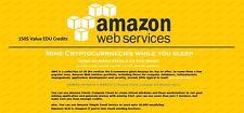 $150 aws amazon web services credit EC2 SQS RDS promocode