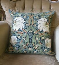 WILLIAM MORRIS INTERIOR DESIGN PIMPERNEL FLORAL TAPESTRY CUSHION COVER ONLY