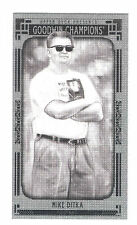 2015 UD Goodwin Champions Blank Back Mini Mike Ditka SP