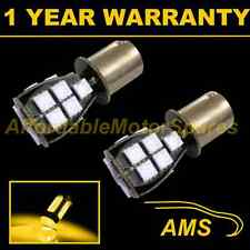 2X 382 1156 BA15s P21W AMBER 18 SMD LED FRONT INDICATOR LIGHT BULBS FI201201