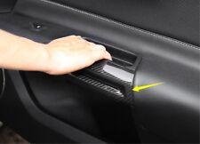 For Ford Mustang 2015-2019 Carbon fiber Interior door armrest decorative Trim