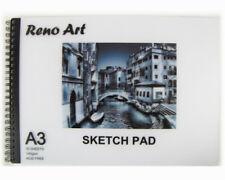 Sketch Book Pad A4 30 Sheet 140 gsm Drawing Painting Art Craft Reno Art