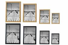 BLACK&PINE PICTURE FRAME POSTER PHOTO FRAME WOODEN EFFECT VARIOUS SIZES