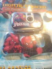 NEW SEALED PACKAGE MARVEL SPIDERMAN DIGITAL CAMERA W/ 3 FACE PLATES & SOFTWARE