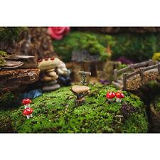 Miniature Dollhouse Fairy Garden Mini Wood And Stone Chair