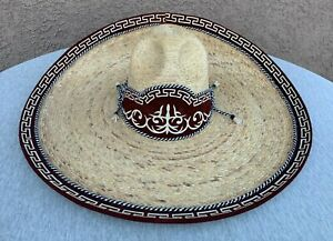 SOMBRERO CHARRO SIZE 7 1/2  MX 60. SADDLE HORSE MEXICAN CHARRO HAT. CHARRO GEAR