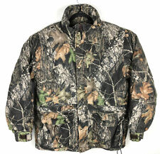 Cabelas Dry Plus Insulated Camo Jacket Men's Size L Hunting Warm Mossy Oak