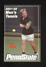 Penn State Nittany Lions--2001-02 Tennis Pocket Schedule