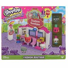 Shopkins Kinstructions Toy Shopping Pack Fashion Boutique Building Set