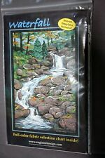 """Cynthia England Quilting Pattern  - """"Waterfall"""" - Picture Piecing"""