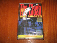 THE CLASH - THE SINGLES MADE IN BULGARIA CASSETTE Bulgarian Edition Rare New