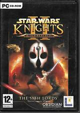 JEU PC (4 CD-ROM)--STAR WARS KNIGHTS II OLD REPUBLIC--COMPLET / NOTICE FRANCAIS