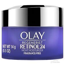Olay Regenerist Retinol 24 Night Moisturizer Fragrance Free 1 Jar Net WT 14 g