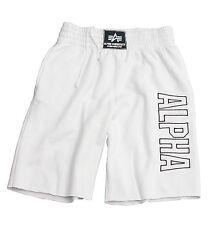 Alpha Industries Track Short,  white, XXXL, Sporthose