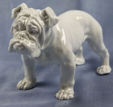 selten englische Bulldogge hundefigur  Porzellanfigur rosenthal figur dogge 1937