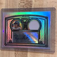 2005 Bowman Sterling Refractor #BS-RM Russ Russell Martin Auto Relic 126/199