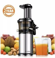 Aobosi Slow Masticating Juicer Extractor Compact Cold Press Juicer Machine READ