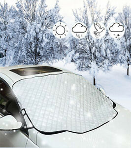 PrelerDIY Darkness Cheshire Cat Car Windshield Snow Ice Frost Cover Sun Shade Protector Anit UV Universal Fit Most Car Truck SUV
