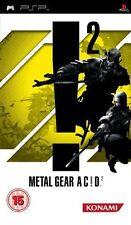 Metal Gear Acid 2 (Sony PSP, 2006) - European Version NEW