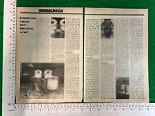 Slingerland Upbeat 650T drum kit - vintage article feature review September 1980
