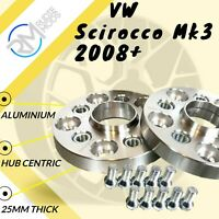VW Scirocco Mk3 2008 onwards 25mm Hubcentric Wheels Spacers 1 pair
