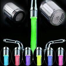 LED Wasserhahn Aufsatz 7 Farben ABS/Chrom ***Schnell Versand*** Neu