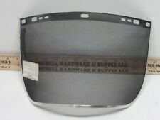 "Huntsman Mesh Wire Face Shield Visor 8"" x 15 1/2 ""  Black"