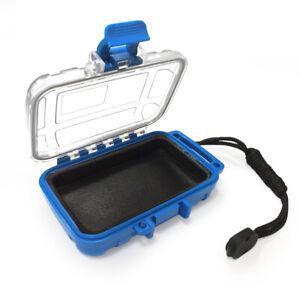 IEM Storage Case Drop Resistance Protective Box for Earphone (Blue)