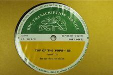 BBC278 Transcription Disc TOP POPS John Lennon Yoko Ono jimmy page led zeppelin
