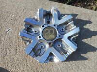 1 20 Tis Chrome Wheel Center Cap Hubcap After Market Custom S607-23 TIS1220011