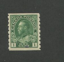 Canada 1912 King George V Admiral Issue Very Fine 1c Stamp #125 CV $40