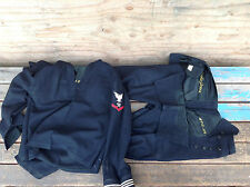 1943 US Navy Petty Officer Storekeeper Crackerjack Uniform - Embroidered Lining