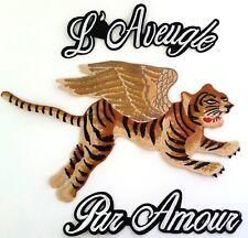 XL Flying Tiger l'aveugle par amour qualité brodé patch Wing Blind 4 Love