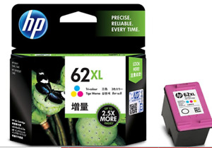 HP  62XL ink cartridge Color (increase) C2P07AA with Tracking