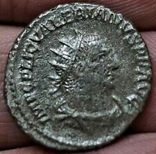 VALERIAN I, VIRTVS AVGG, 253-254 A.D, 21mm 4.1g Ancient Roman Billon Silver Coin