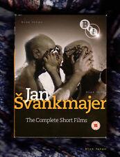 Jan Svankmajer Complete Short Films 1964 to 1992 PAL UK DVD Box Set BFI-VD632