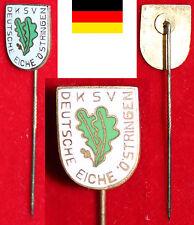 RINGEN BADGE ANSTECKNADEL RINGERHOCHBURG DRB KSV DEUTSCHE EICHE 1913 ÖSTRINGEN