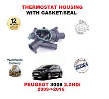 pour Peugeot 3008 2.0 HDI 2009>2016 Boîtier de Thermostat complet avec joint