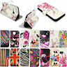 Folding Stand Leather Slot Wallet Phone Skin Cover Case Accessory For HTC One M9