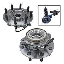 2 Front New Wheel Hub Bearing Assembly Pair/Set for Silverado Sierra Suburban H2