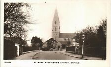 Enfield. St Mary Magdalene's Church # S 6496 by WHS Kingsway.