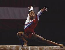 SIMONE BILES REPRINT AUTOGRAPHED SIGNED PICTURE PHOTO USA OLYMPICS GYMNASTICS RP