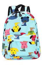 Childrens' Cute Canvas School Backpacks Mini Rucksack School Bag