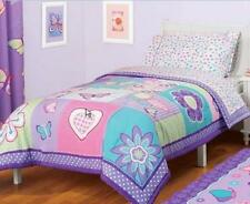 TWIN - American Kids -  Butterfly Patches Super Soft REVERSIBLE COMFORTER