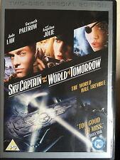 Jude Law Angelina Jolie ciel CAPTAIN & World of Tomorrow 2-Disc Edition Spécial