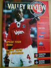 League Match Valley Review CHARLTON ATHLETIC v. OLDHAM ATHLETIC