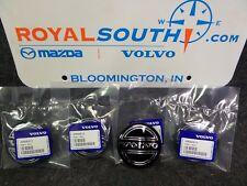 Genuine Volvo Black Wheel Center Cap Set OE OEM 30666913
