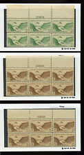 Canal Zone: High Value Group of Mint Airmail Plate Blocks (Stock #CZ PB7)