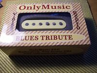 Compatible with STRATOCASTER OM BLUES TRIBUTE VINTAGE REPRO BRIDGE PICKUP