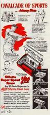 1949 New York Yankees Johnny Mize Art Gillette Print Ad